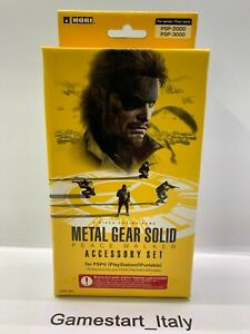 METAL GEAR SOLID PEACE WALKER ACCESSORY SET - SONY PSP - NEW - RARE - HORI
