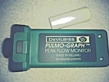 Devilbiss Pulmo-Graph Peak Flow Monitor Standard 580AM-401 a