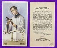 SANTINO HOLY CARD, SAN LUIGI GONZAGA -RIF. 7157