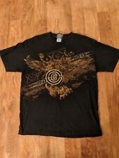 CHRISTIAN CAGE TNA Impact Wrestling T-Shirt Mens LARGE WWE/WWF Captain Charisma