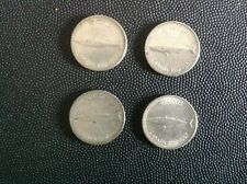 Canada 1967 10 cent Silver coin lot of 4 Coins