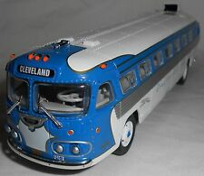 Corgi Vintage Bus Lines Flxible Clipper Greyhound Bus Lines CLEVELAND