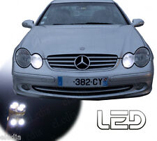 MERCEDES W203 2 LED bulbs White Night Lights positions 180 200 220 240 270