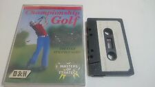 JUEGO CASSETTE CHAMPIONSHIP GOLF COMMODORE 64 CMB 64 C64 PAL 128.