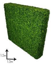 Portable Light Boxwood Hedge - UV stabilised (1.5m x 1.5m)