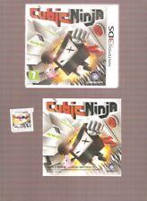 Rarissime CUBIC NINJA !!!  Un Jeu Culte sur 2DS/3DS/New 3DS. Quasi NEUF