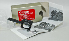 Canon F-1 Accessory FLASH COUPLER F for Original F-1 CAMERA flash mount shoe