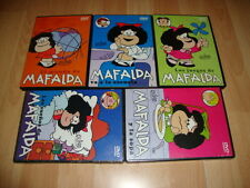MAFALDA SERIE COMPLETA PACK DE 5 DISCOS EN DVD USADO - NUEVO EN BUEN ESTADO