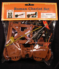 BMC 43 Roman Chariot Set with Horses & Weapons Bagged Playset