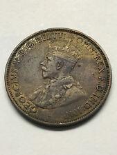 1916 Australia Half Penny VF+ #12649