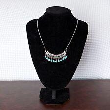 Women's Tibetan Vintage Turquoise Beads Pendant Necklace Jewellery Gift UK