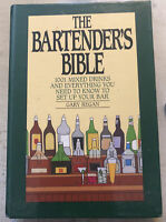 Used Cookbook ~ The Bartenders Bible 1001 Mixed Drinks By Gary Regan 1991