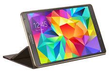 Original Samsung Book Cover Tasche Case Hülle EF-BT700 Galaxy Tab S 8.4 Bronze