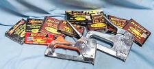Vintage Lot of 2 Arrow Staple Guns and Unused Staples dq