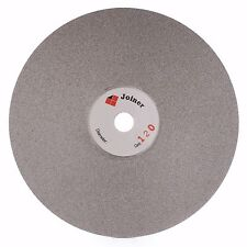 """6"""" inch Grit 120 Coated Diamond Grinding Disc Wheel Flat Lap Disk Lapidary Tools"""