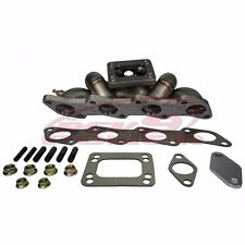 Rev9 HP-Series Equal Length Top Mount T3/T4 Turbo Manifold Fit 240SX KA24DE