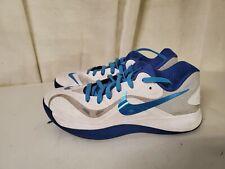 Nike Zoom Hyperfuse Low White/Strata Grey/Game Royal 555034-100 Men's Size 9.5