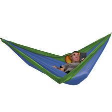 40% OFF! NEW EXPED TRAVEL HAMMOCK DUO .  EMERALD GREEN/BLUE