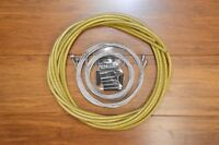 New Braided Jagwire brake shifter cable housing kit-Braided Gold-Road & Mtb