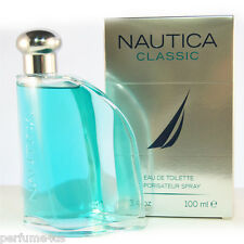 NAUTICA CLASSIC 3.4 OZ ,100ML EAU DE TOILETTE SPRAY MEN BRAND NEW IN BOX SEAL
