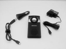 Plantronics K100 Universal Bluetooth Car Kit Speaker With FM Transmitter TESTED