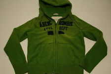 NWT ABERCROMBIE & FITCH GREEN MUSCLE CUT HOODIE SWEATSHIRT MENS SIZE M