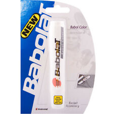 Babolat Tennis Racket Stencil Ink - White - Free P&P