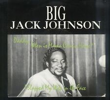 BLUES PICTURE SLEEVE 45: BIG JACK JOHNSON I Slapped My Wife in the Face