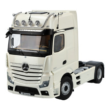 Mercedes Truck Actros FH25 Gigaspace Illuminated Tractor White 1:18 Nip NZG