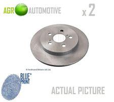 2 x BLUE PRINT REAR BRAKE DISCS SET BRAKING DISCS PAIR OE REPLACEMENT ADT343277