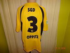 "DINAMO Dresda NIKE Matchworn Trikot 2007/08 ""MISTER * Lady"" + N. 3 Oppitz Taglia XL"
