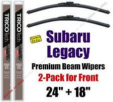 Wipers 2-Pack Premium Wiper Beam Blades - fit 2005-2009 Subaru Legacy 19240/180