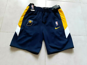 NWT! Nike NBA Indiana Pacers Thermaflex Shorts AV1053-419 Men's Size XXL-Tall