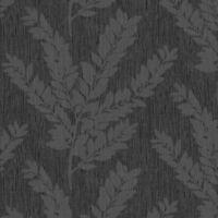 Tapete, Designtapete, Struktur, Streifen, Mistel, Schimmer, Silber, Grau, Coal