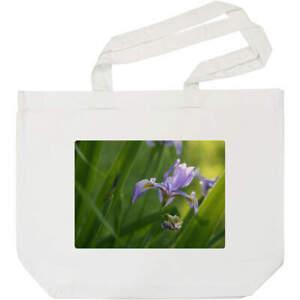 'Iris Flower' Tote Shopping Bag For Life (BG00006456)