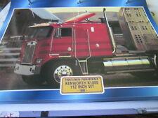Super Trucks Frontlenker USA Kenworth K100E 112 Inch Vit 1984