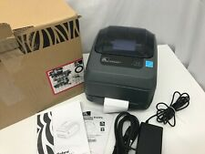 Zebra Direct Thermal/Thermal Transfer Monochrome Printer, GK420T