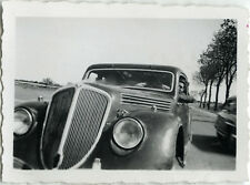 PHOTO ANCIENNE - VINTAGE SNAPSHOT - VOITURE AUTOMOBILE CADRAGE - OLD CAR