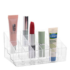 1PCS Acrylic 24 Cosmetic Lipstick Storage Display Stand Holder Organizer Storage