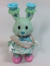 Vintage Tea Bunnies Bunny Me Tea Party Pansy Parfait Ice Cream Parlor Playset