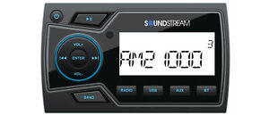 Soundstream MHU-32 Marine Boat UTV MP3 Digital Media Player Bluetooth AUX USB