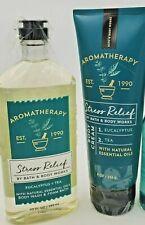 Bath & Body Works Aromatherapy Stress Relief Eucalyptus Tea Set