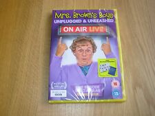 MRS.BROWN'S BOYS, DVD, UNPLUGGED  & UNLEASHED, ON AIR LIVE, NEW, SEALED