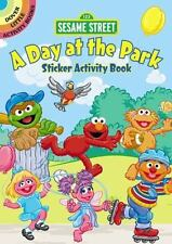 SESAME STREET A DAY IN THE PARK STICKER ACTIVITY BOOK, scene, character stickers