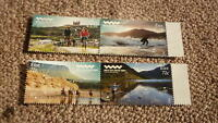 2016 IRELAND POST MINT STAMPS, THE WILD ATLANTIC WAY SET OF 4 STAMPS MNH