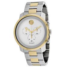 Movado Bold Chronograph Silver Dial Men's Watch 3600432