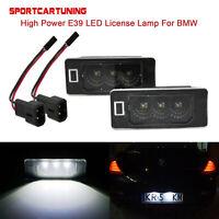 2x Error Free LED Cree License Plate lamp For BMW E90 E91 E92 E93 E60 E70 F30