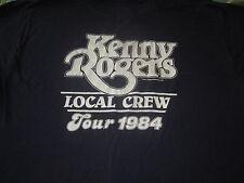KENNY ROGERS VINTAGE 1984 CONCERT TOUR TEE SHIRT