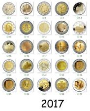 2 euro commémorative 2017 - Tous les pièce disponibles