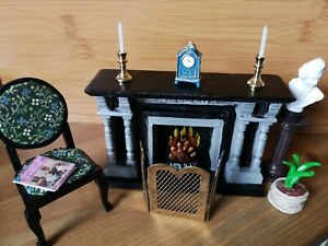 Dolls House Miniature Fireplace And Lots More 12.1 Scale